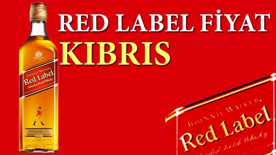 Red Label Fiyat Kıbrıs