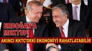 Akıncı'dan Erdoğana Mektup