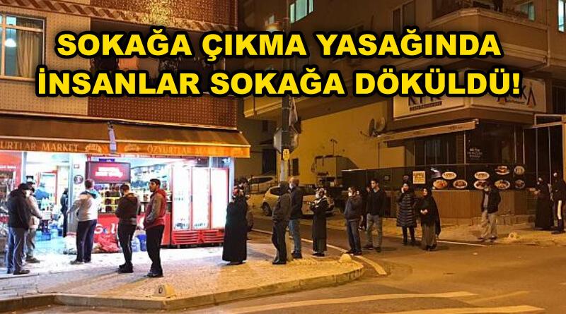 Türkiye Sokağa Çıkma Yasağı