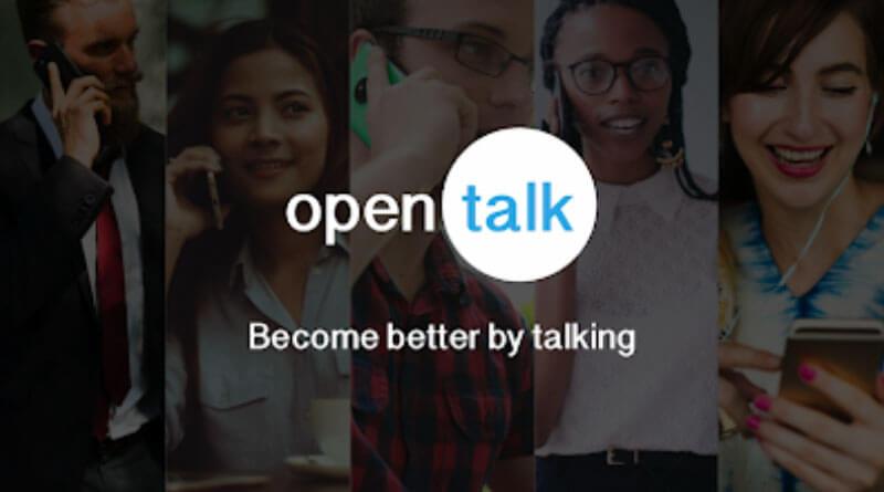 open talk uygulaması