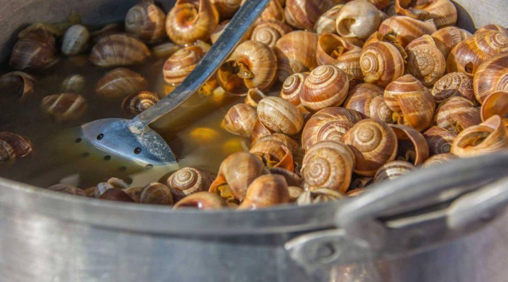 Kıbrıs Salyangoz Yemeği - Garavolli